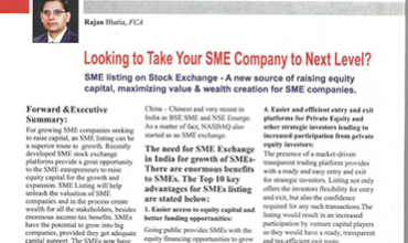 SME Company to next level